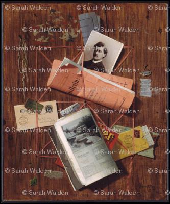 "Letter Rack by John F. Peto ~ Trompe-l'Å""il"