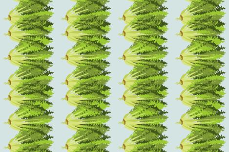 endive_blue fabric by lfntextiles on Spoonflower - custom fabric