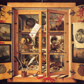 Cabinet Of Curiousities by Domenico Remps