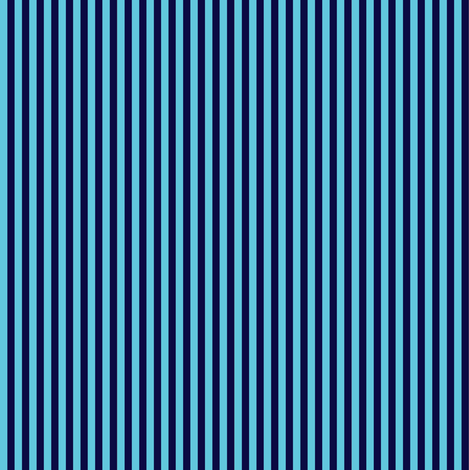 navy turquoise stripes  fabric by yomarie on Spoonflower - custom fabric