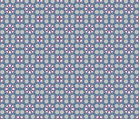 Woollen Flowers fabric by koalalady on Spoonflower - custom fabric