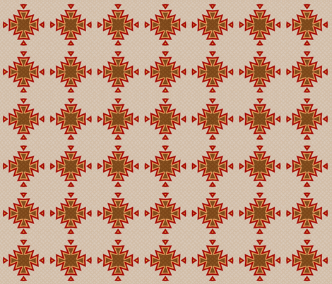 desert compass toasty brown fabric by keweenawchris on Spoonflower - custom fabric