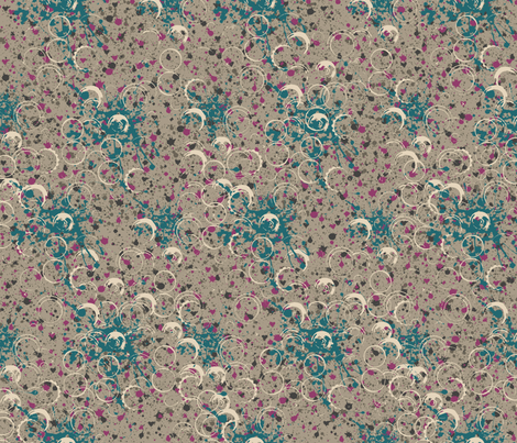 SplatterToupe fabric by catail_designs on Spoonflower - custom fabric