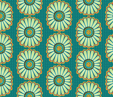 Believe_main_emerald fabric by mindsthatcreate on Spoonflower - custom fabric