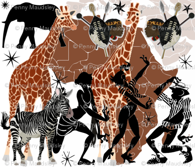 AFRICAN COLLAGE