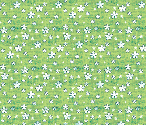 Believe_tone_emerald1 fabric by mindsthatcreate on Spoonflower - custom fabric