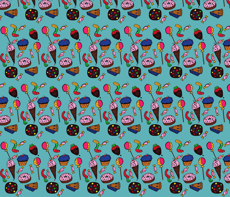 Candy fabric by onomatopoeia on Spoonflower - custom fabric