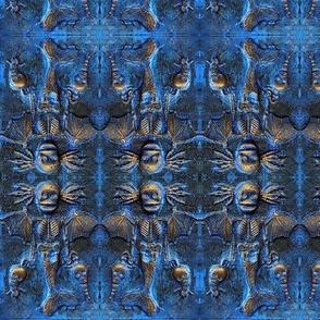 Blue Mermaid Demon