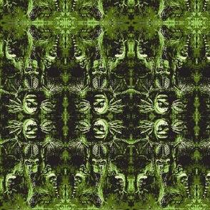 Green Mermaid Demon