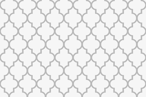 Large Scale Custom Cashmere and Snow Quatrefoil fabric by willowlanetextiles on Spoonflower - custom fabric