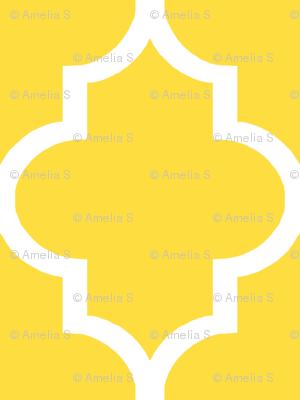 Lemon Quatrefoil