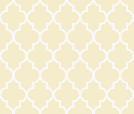 Lemonade Stand Ogee fabric by willowlanetextiles on Spoonflower - custom fabric