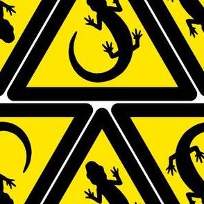 newt hazard signs