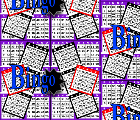 Bingo Cards fabric by dd_baz on Spoonflower - custom fabric