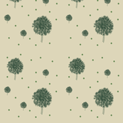 whisps in green and grey