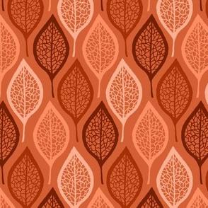 Skeleton Leaves - Clay