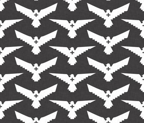 peace_bird___plus fabric by holli_zollinger on Spoonflower - custom fabric