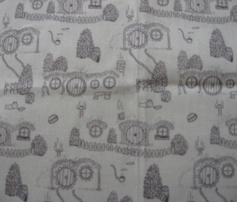 Grey Shire Toile