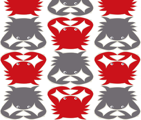 red_louie fabric by antoniamanda on Spoonflower - custom fabric