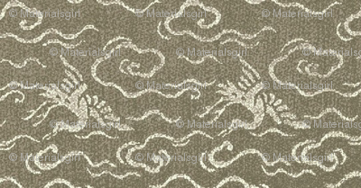 Golden Crane - stone - lg