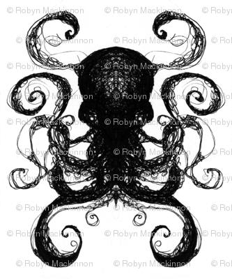 Ink Scratch Octopi 1