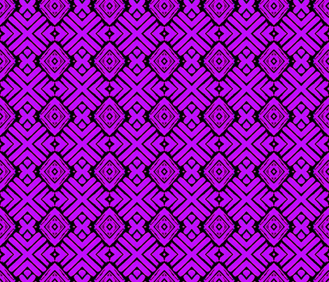 Block Print 4-purple fabric by koalalady on Spoonflower - custom fabric