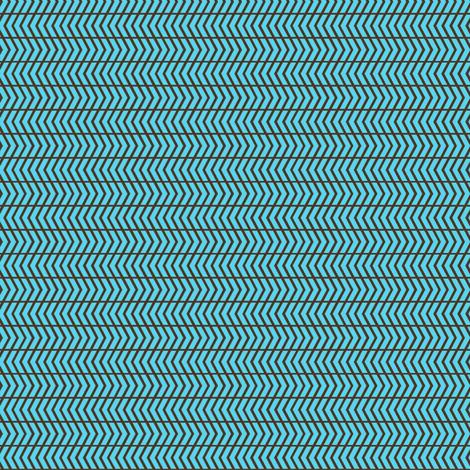 mini chevron blue fabric by cjldesigns on Spoonflower - custom fabric