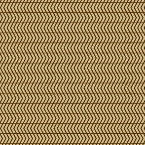 mini chevron brown