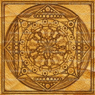 Eternity Mandala Leather