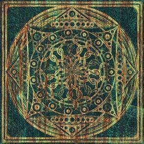 Eternity Mandala Weathered Wood