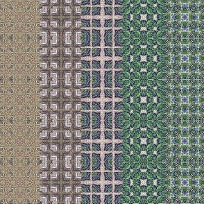 Border squares stripes dull
