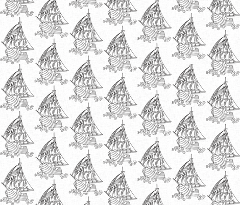 ships___white fabric by holli_zollinger on Spoonflower - custom fabric