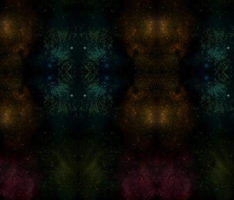 Kaleido: spaced. fabric by fannyviitaharju on Spoonflower - custom fabric
