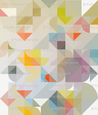 Geometric Watercolour Kaleidoscope