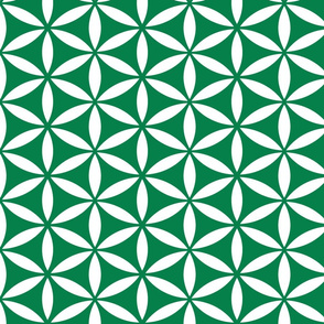Flower of Life - Emerald