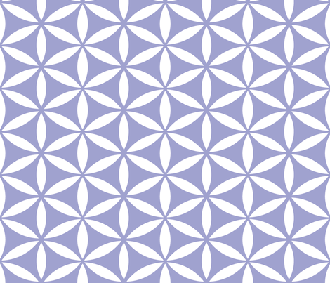 Flower of Life HB fabric by pixeldust on Spoonflower - custom fabric