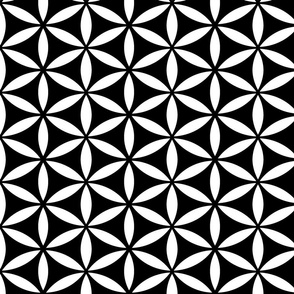 Flower of Life Black