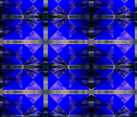 Mon Blu fabric by nascustomlife on Spoonflower - custom fabric