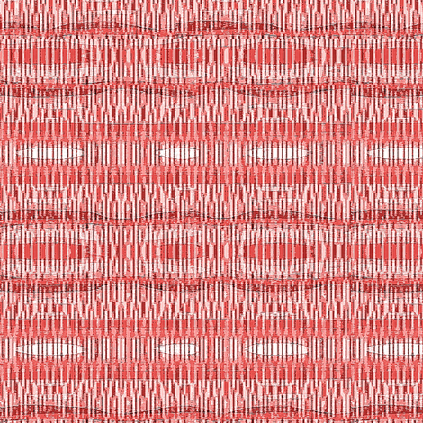 pink and white wheat  fabric by dk_designs on Spoonflower - custom fabric