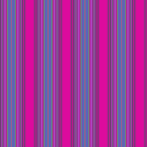 Very Pink Stripe © Gingezel™ 2013 fabric by gingezel on Spoonflower - custom fabric
