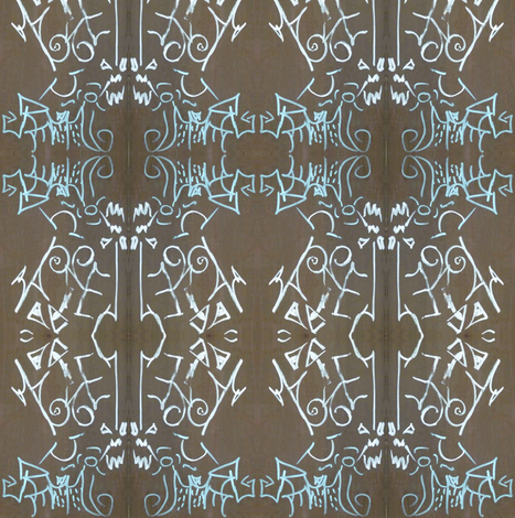 Web of Intrigue fabric by susaninparis on Spoonflower - custom fabric