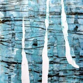 Wooden Paint Blue