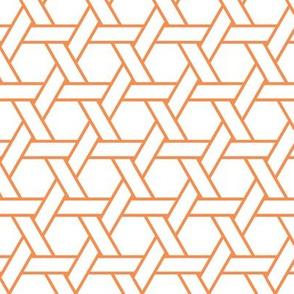 kagome outline in topaz