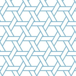 kagome outline in angelite