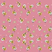 Pink Daisy Bow