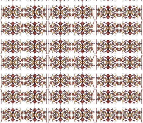 Medieval Lattice fabric by flyingfish on Spoonflower - custom fabric