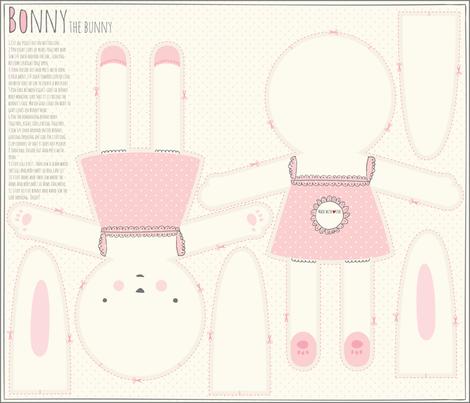Bonny Bunny fabric by stacyiesthsu on Spoonflower - custom fabric