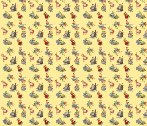 Daily Chores fabric by fenderskirt on Spoonflower - custom fabric