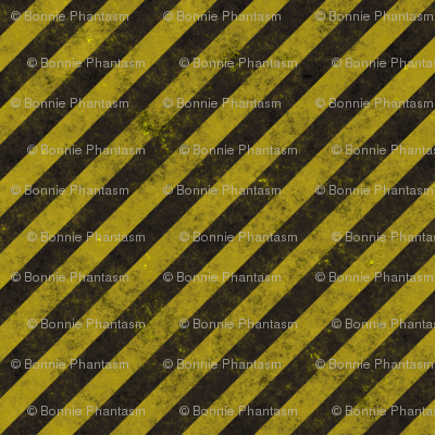 Distressed Construction Stripes