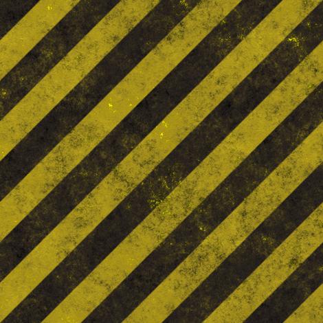 Distressed Construction Stripes fabric by bonnie_phantasm on Spoonflower - custom fabric